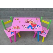 Masuta copii cu 2 scaune Capsunica Siclam