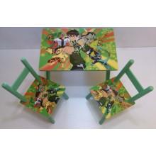 Masuta copii cu 2 scaune Ben Ten
