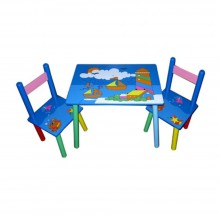 Masuta copii cu 2 scaune Vaporase