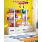 Etajera copii Multicolor