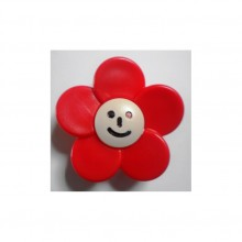 Butoni plastic floare