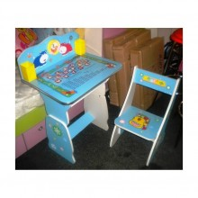 Birou copii cu scaunel reglabil Hipopotami